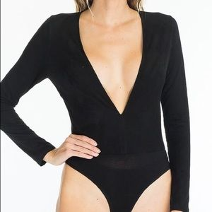 Tops - Black bodysuit